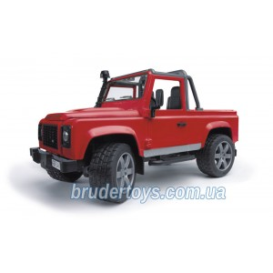 Bruder 02591 игрушка - джип  Land Rover Defender Pick Up